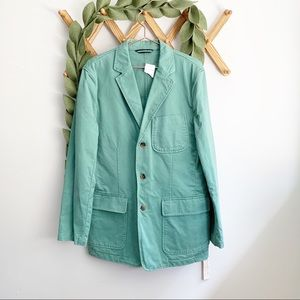 J. Crew Green Oversized Jacket